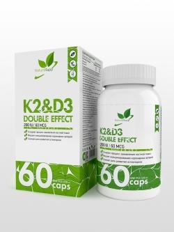 Витаминный комплекс К2&Д3, 60 капсул