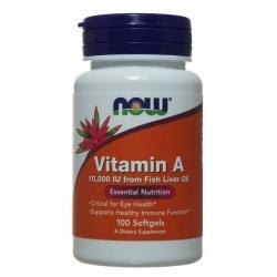 Витамин А 10000МЕ, 100капсул