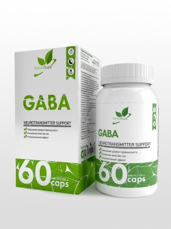 GABA (гамма-аминомасляная кислота), 60капсул