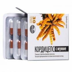 Кордицепс с мумие 30 капс